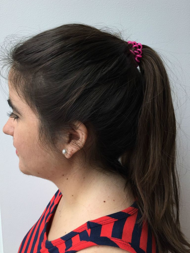 Strange This Bobby Pin Trick Boosts Your Ponytail How To Do A High Ponytail Hairstyles For Men Maxibearus