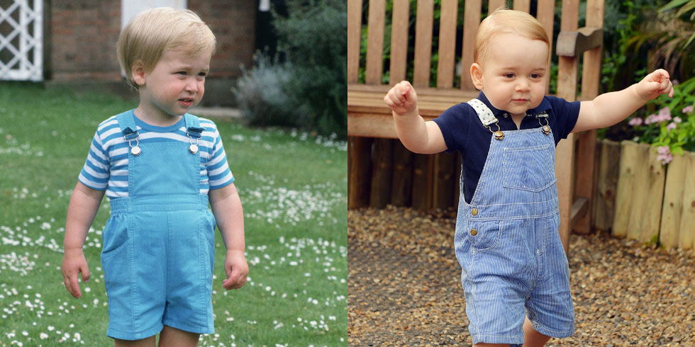 Prince George And Prince William Matching Prince George