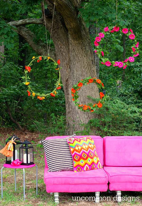 Giant Wreath Diys Oversized Wreath Crafts