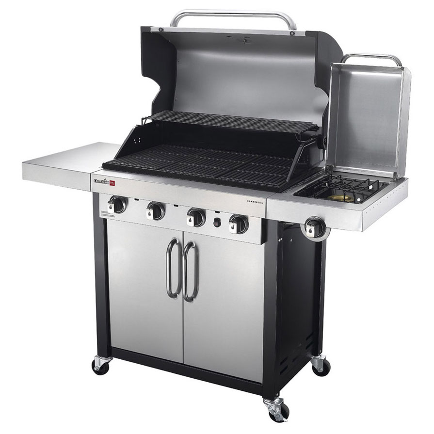Char Broil Tru Infrared Commercial 4 Burner Grill 463242715 Review