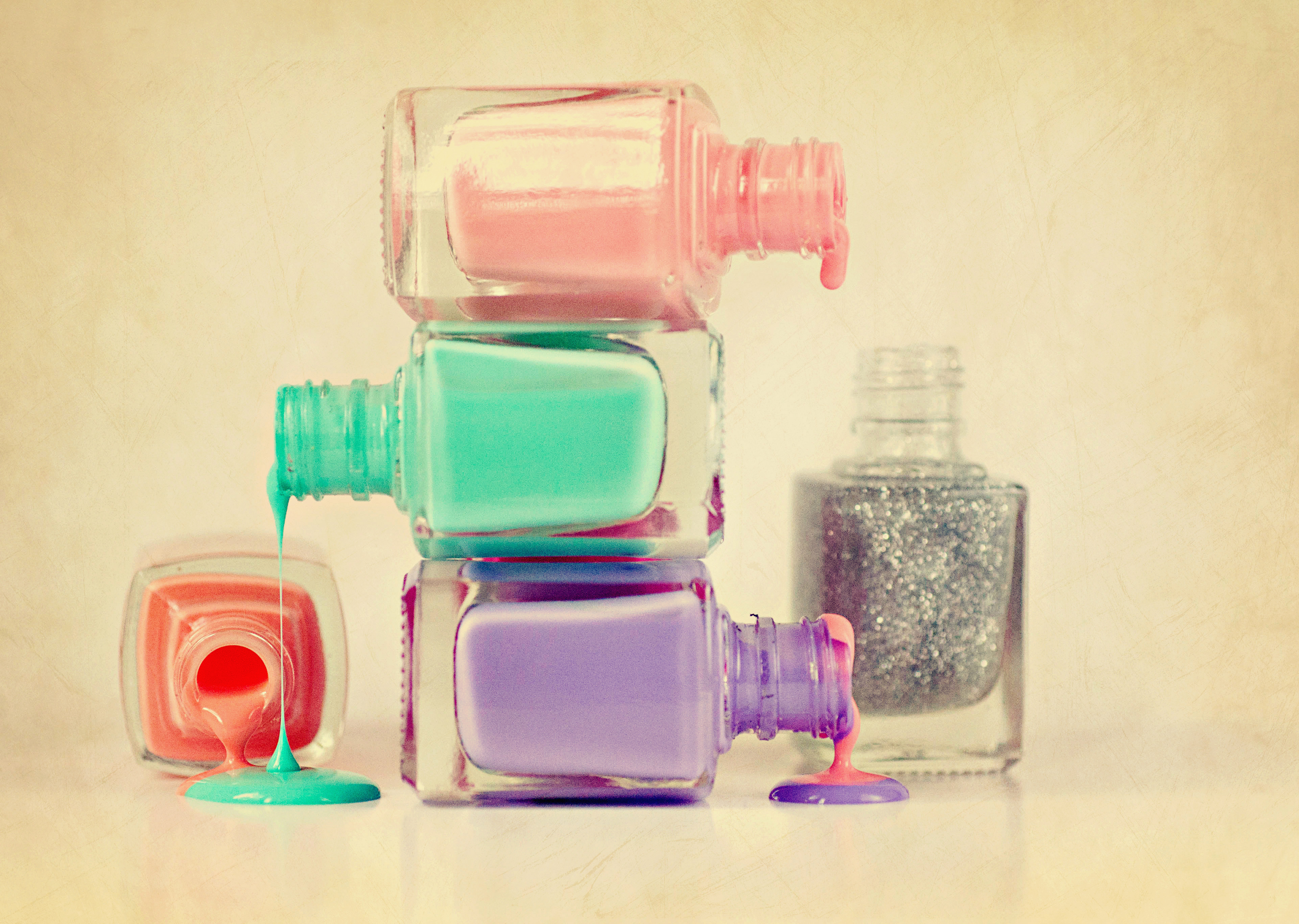 how to get clear nail polish out of carpet