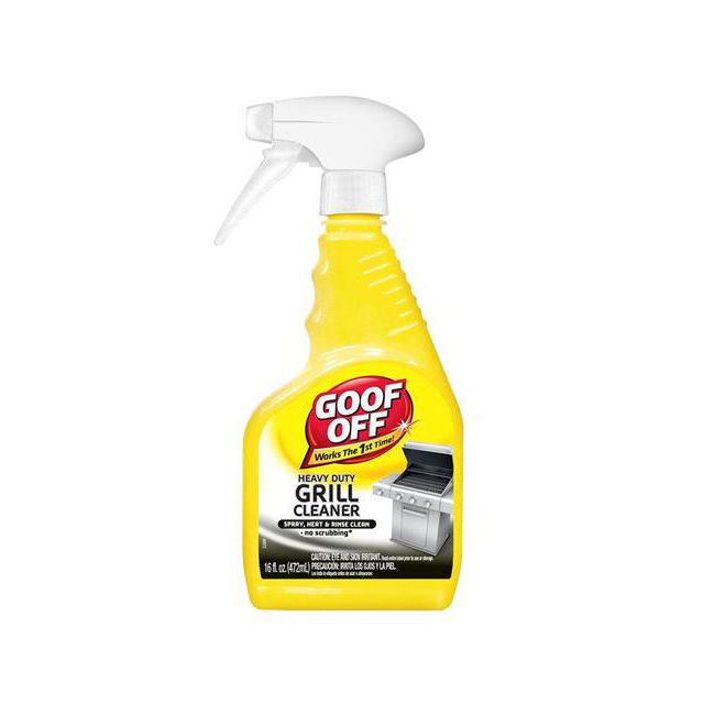 goof off heavy duty grill cleaner