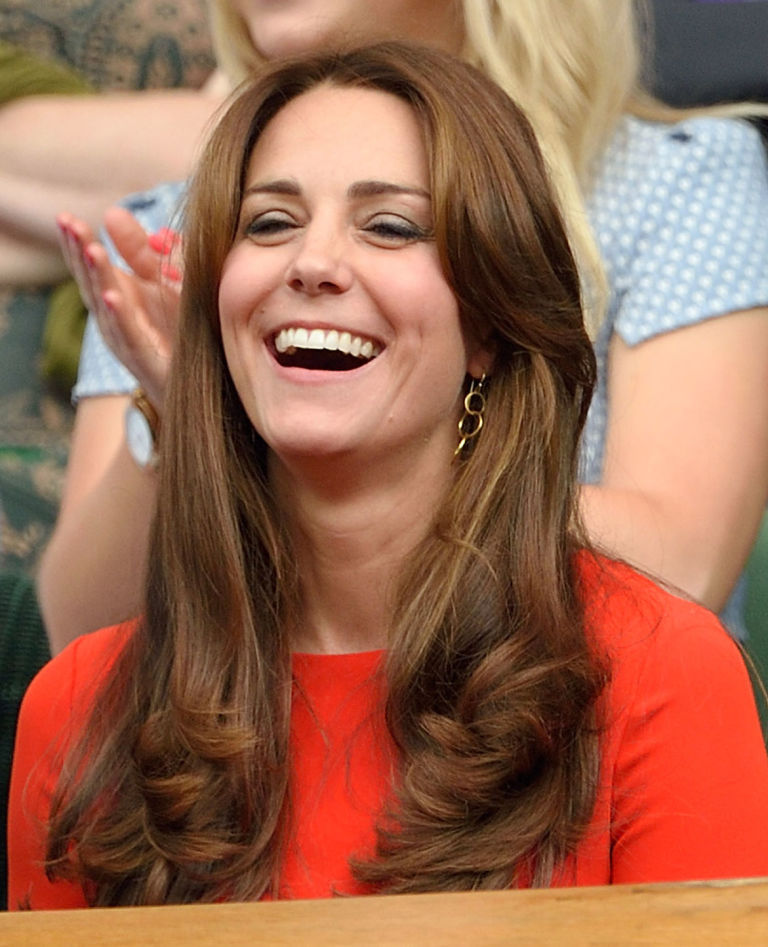 Incredible Kate Middleton39S New Hair Photos Of The Royal Family At Wimbledon Short Hairstyles For Black Women Fulllsitofus