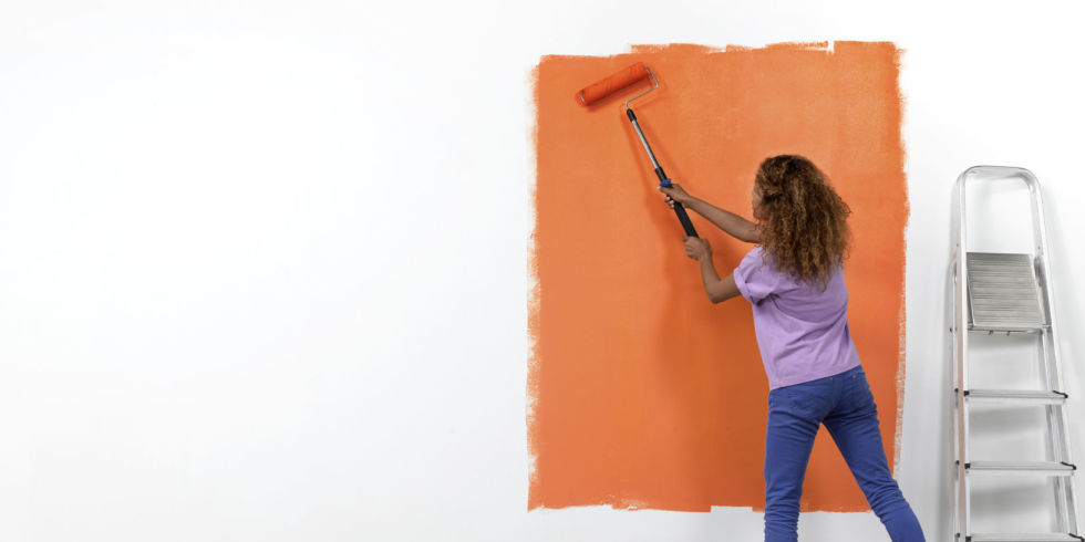 When painting a room