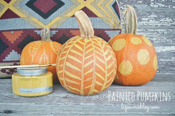 35 pumpkin painting ideas painted pumpkins for halloween 2017 - How To Paint Pumpkins For Halloween