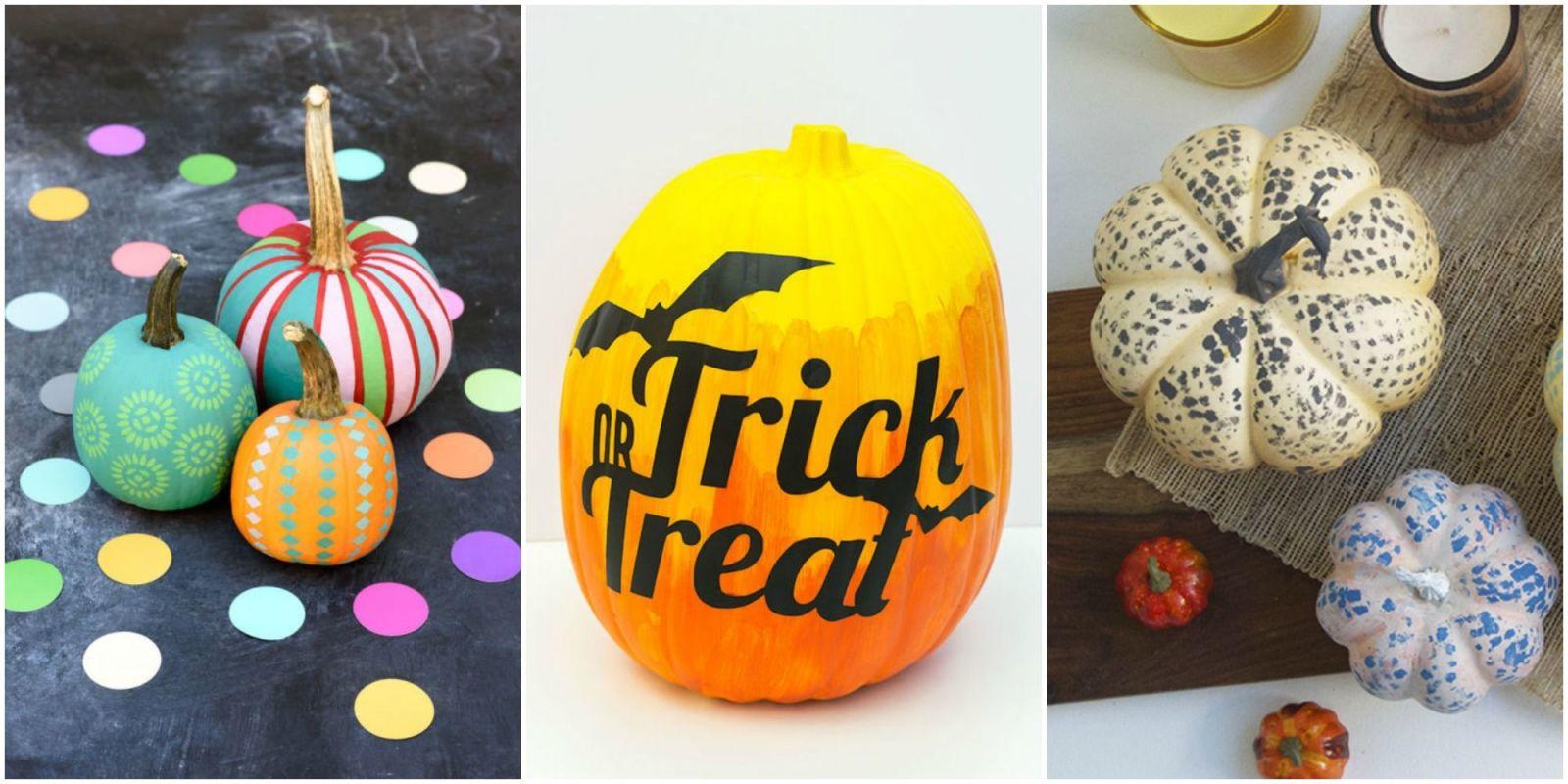 25 Pumpkin Painting Ideas Painted Pumpkins For Halloween