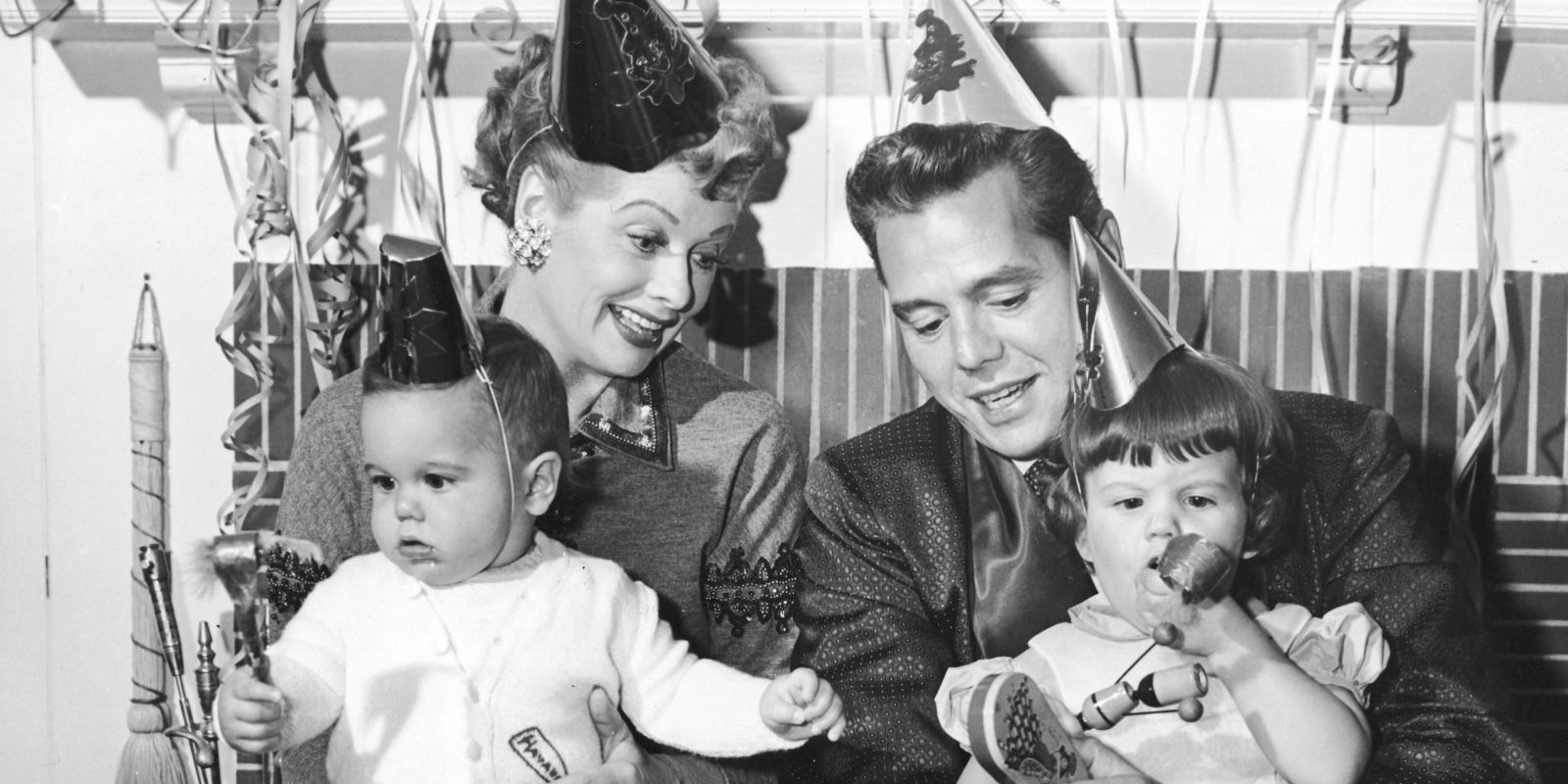 Lucille Ball With Her Kids Rare Photos Balls Family