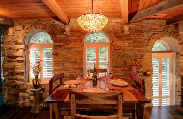 live like woodland royalty in this real life castle - Light Hardwood Castle 2015