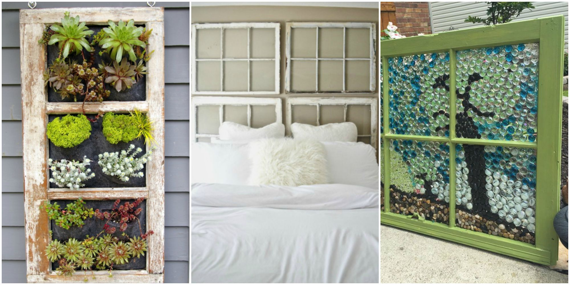Ways To Use An Old Window Frame Diy Repurposing Projects