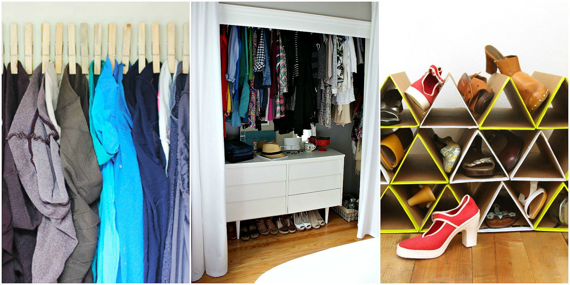 Small closet ideas closet organizing hacks - Best way to organize your home with modern furniture ...