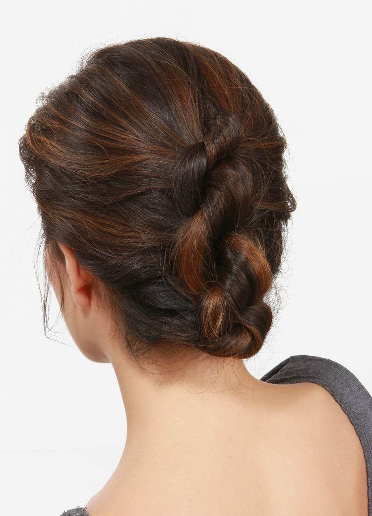 Best Hairstyle Of The Day Celebrity Haircuts And Hair Color Ideas - Croissant hairstyle bun