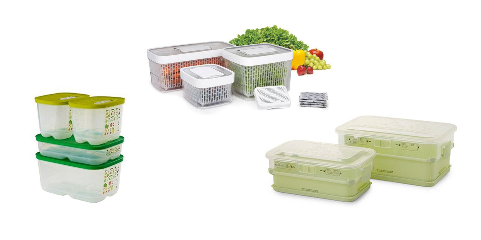 Produce Keeper Reviews   OXO GreenSaver Produce Keeper, Princess House  Fresh + Healthy Produce Keeper And Tupperware FridgeSmart