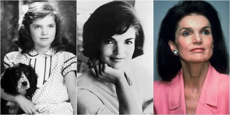 Картинки по запросу jacqueline kennedy young and old photos