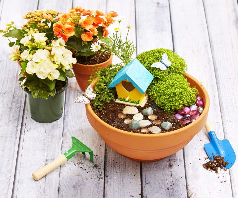 Make a Mini Magic Garden DIY Fairy Garden