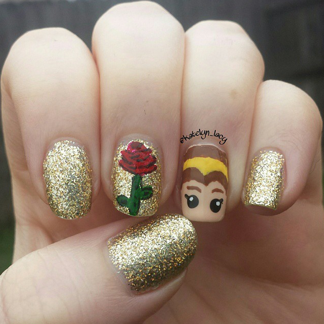 11 disney inspired manicures even adults will love prinsesfo Gallery
