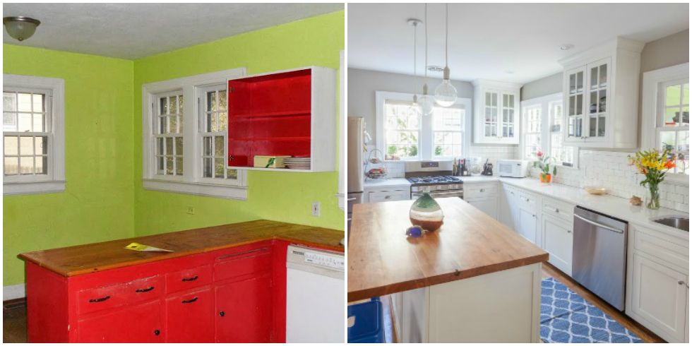 8 clever kitchen makeovers kitchen renovation ideas for Kitchen makeover ideas