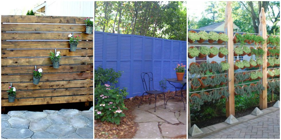 Diy patio privacy screens backyard patio ideas for Outdoor deck privacy solutions