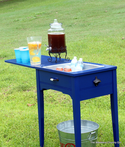 Repurposed Sewing Table Ideas - Sewing Table Makeovers