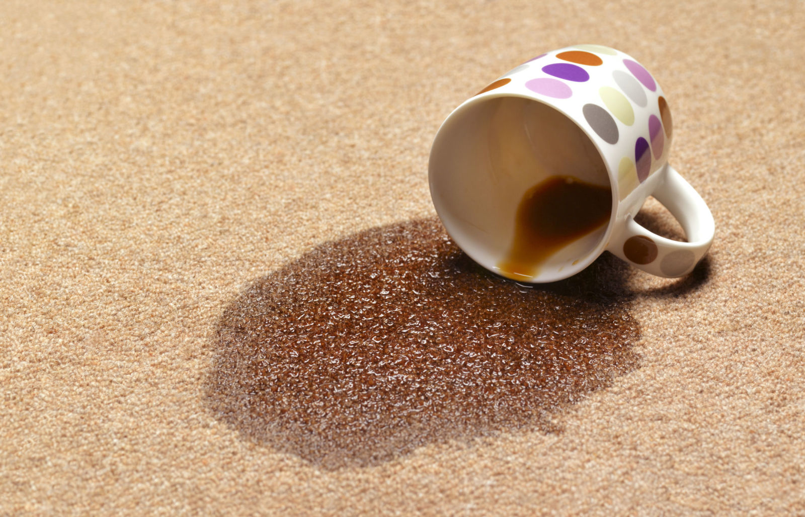How To Get Coffee Stain Out Of Carpet Removal