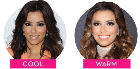 warm vs cool toned hair colors how hair undertones