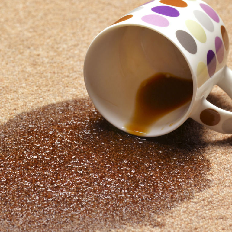 how to clean old coffee stains from carpet