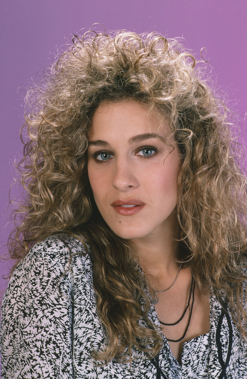 80s fashion women hair