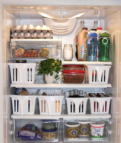 Refrigerator Organizing Hacks - Space-Saving Tricks For a Tiny Fridge