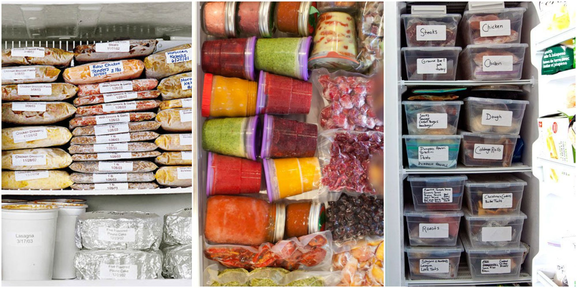 How To Organize Your Freezer Freezer Storage Tricks