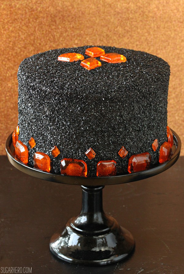 36 spooky halloween cakes recipes for easy halloween cake ideas - Simple Halloween Cake Decorating Ideas