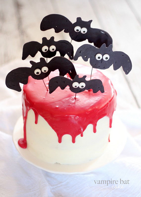 36 spooky halloween cakes recipes for easy halloween cake ideas - Easy Halloween Cake Decorating Ideas