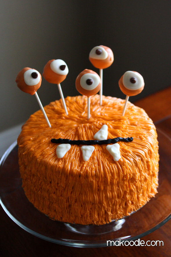 36 Spooky Halloween Cakes - Recipes for Easy Halloween Cake Ideas