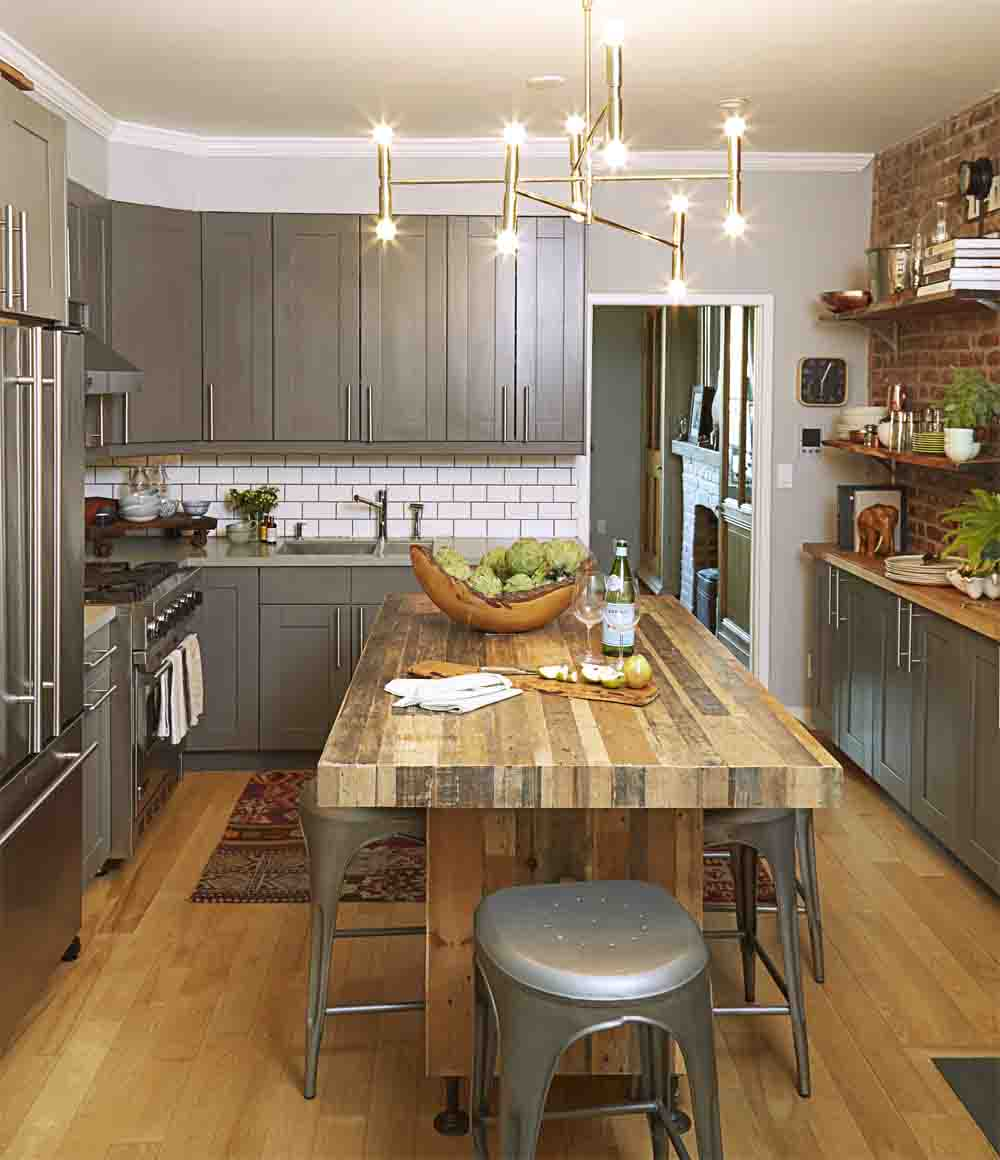 15 best kitchen island ideas - standalone kitchen island design