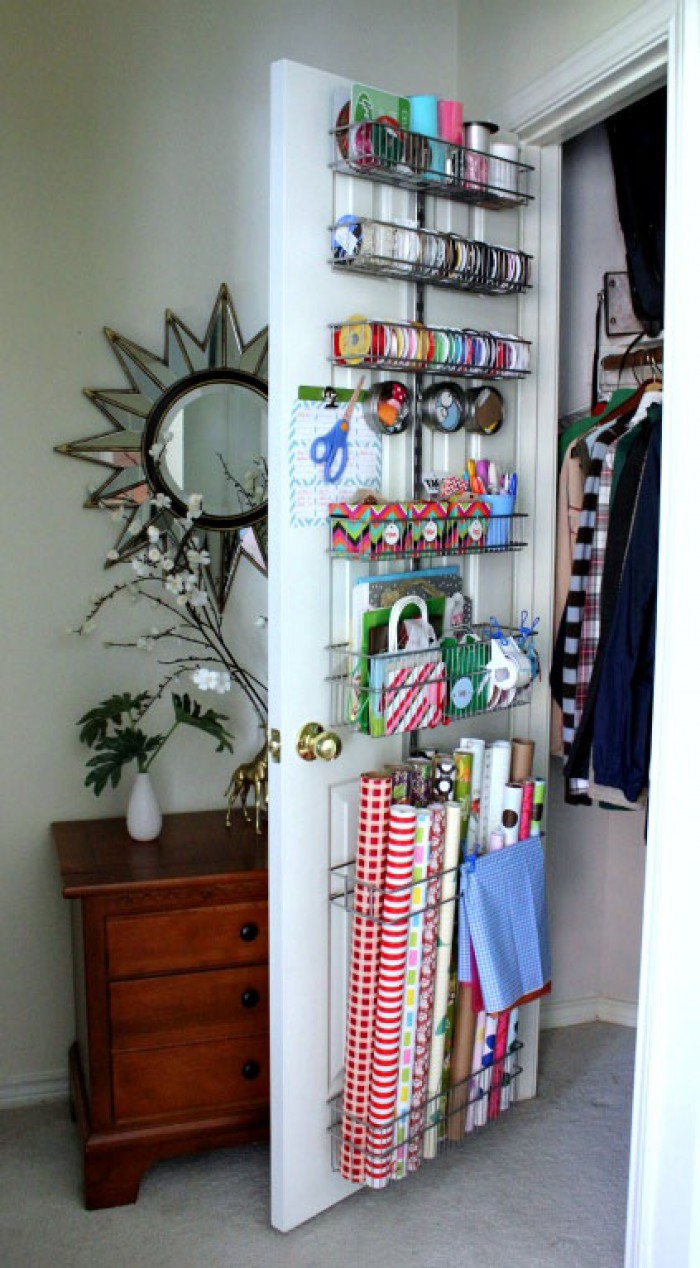 Closet Door Storage Ideas - New Uses for Closet Doors