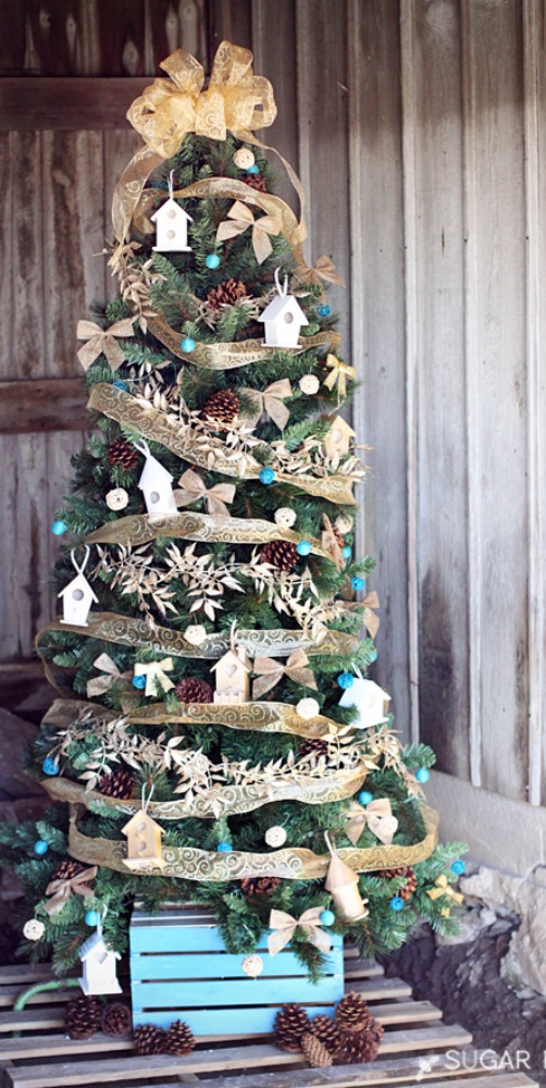Christmas Tree Decorating Ideas Pictures 15 decorated christmas tree ideas - pictures of christmas tree