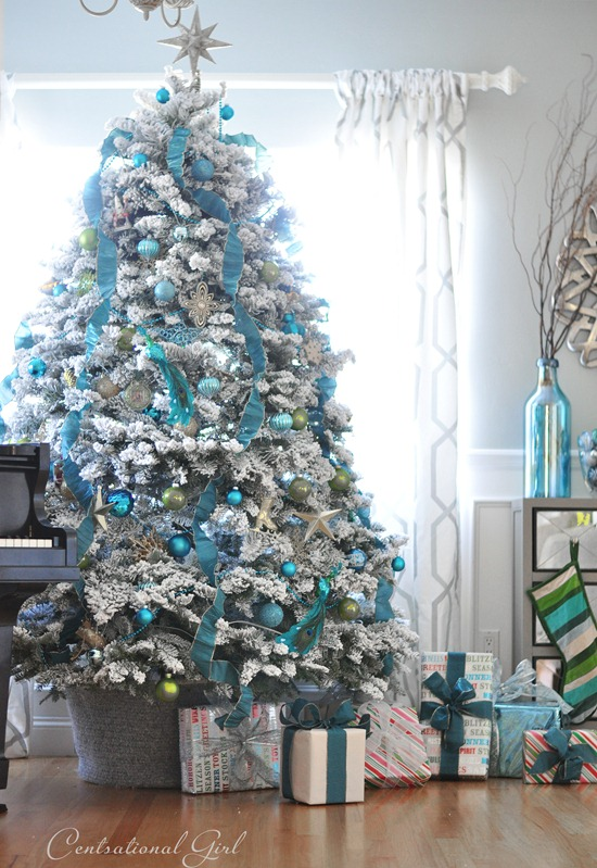 25 decorated christmas tree ideas pictures of christmas tree inspiration - Blue Christmas Trees