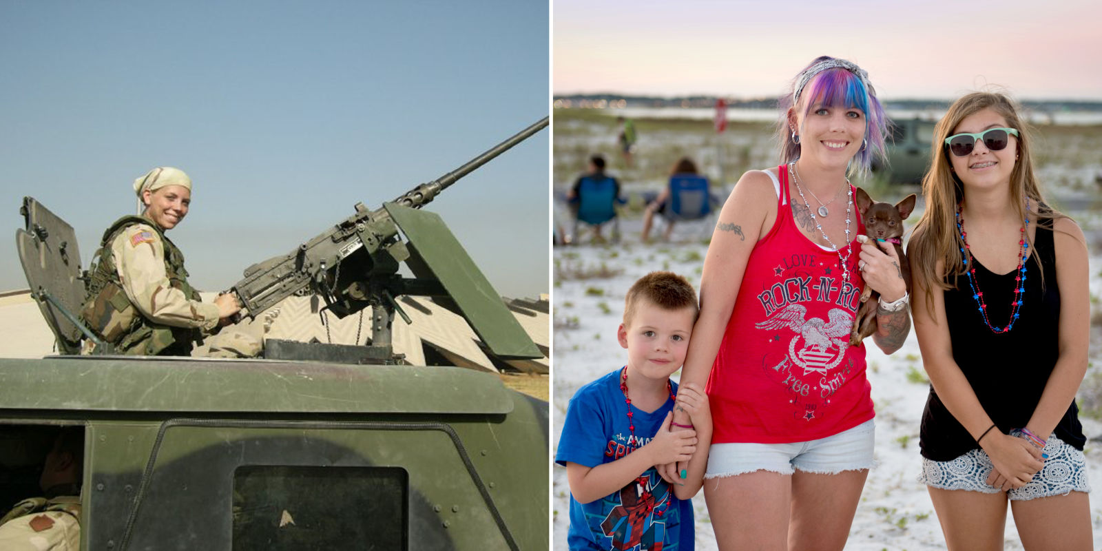 A Female Veteran With PTSD - PTSD Impact on Being a Parent