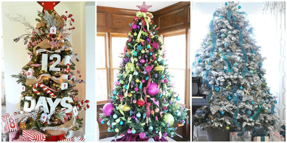 15 decorated christmas tree ideas pictures of christmas tree inspiration - Christmas Trees Decorated
