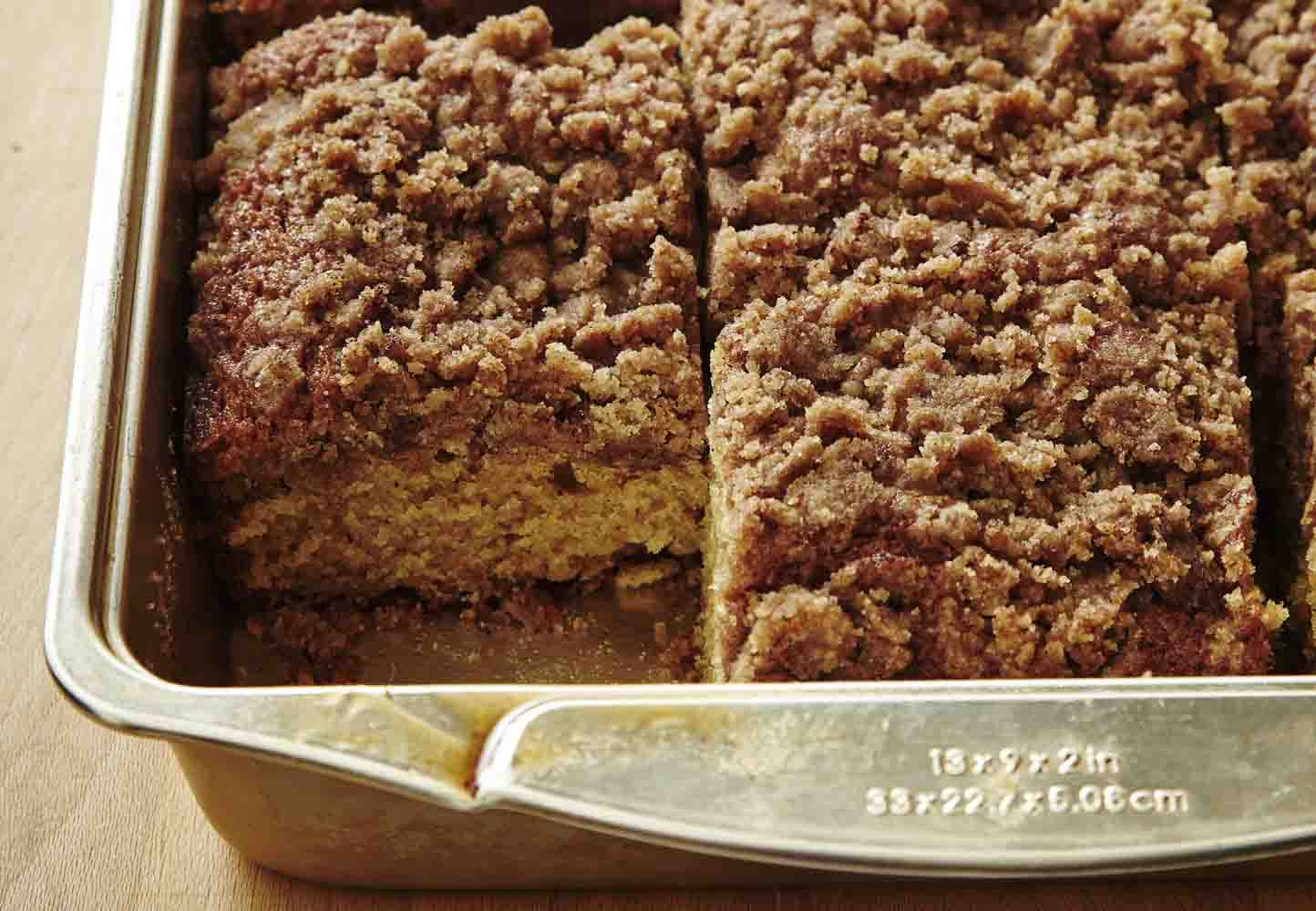 Old fashioned coffee cake 50
