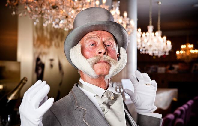 Karl-Heinz Hille mustache Guinness