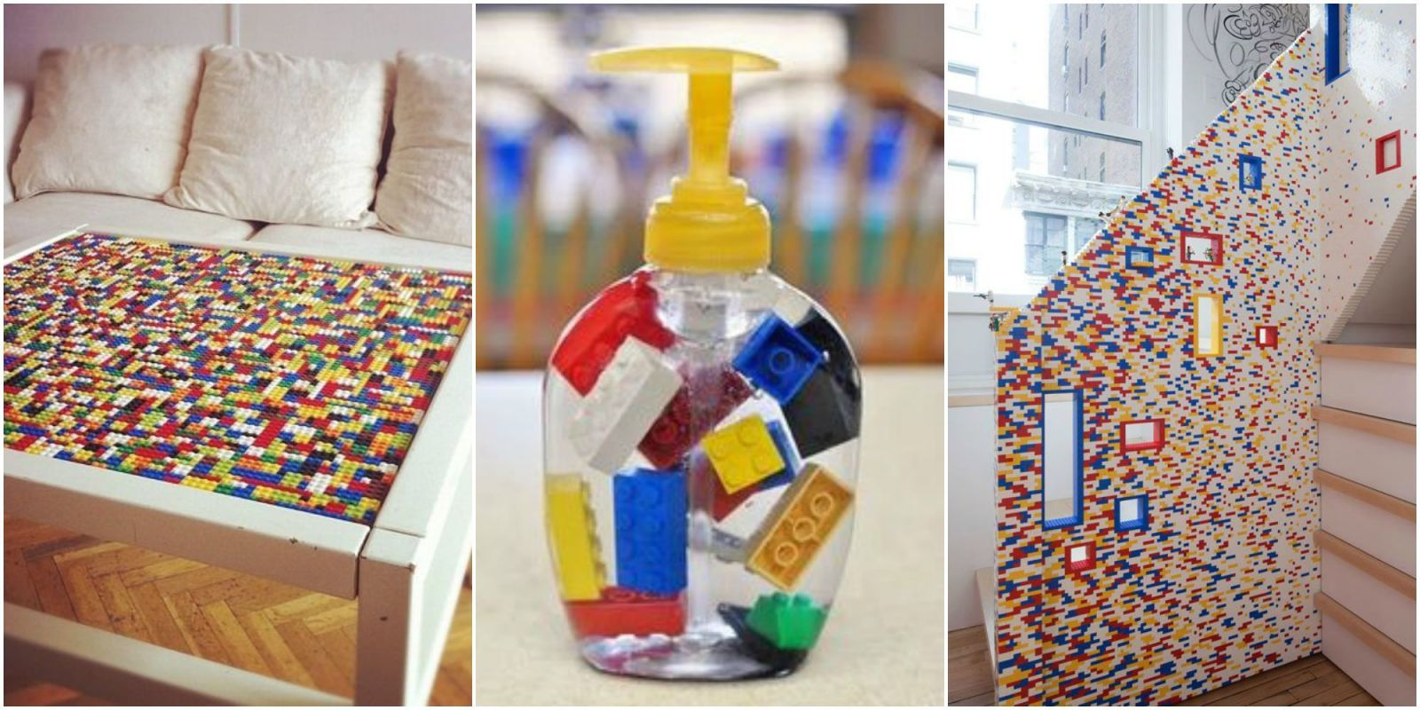 People Decorating how to decorate with legos - new uses for legos