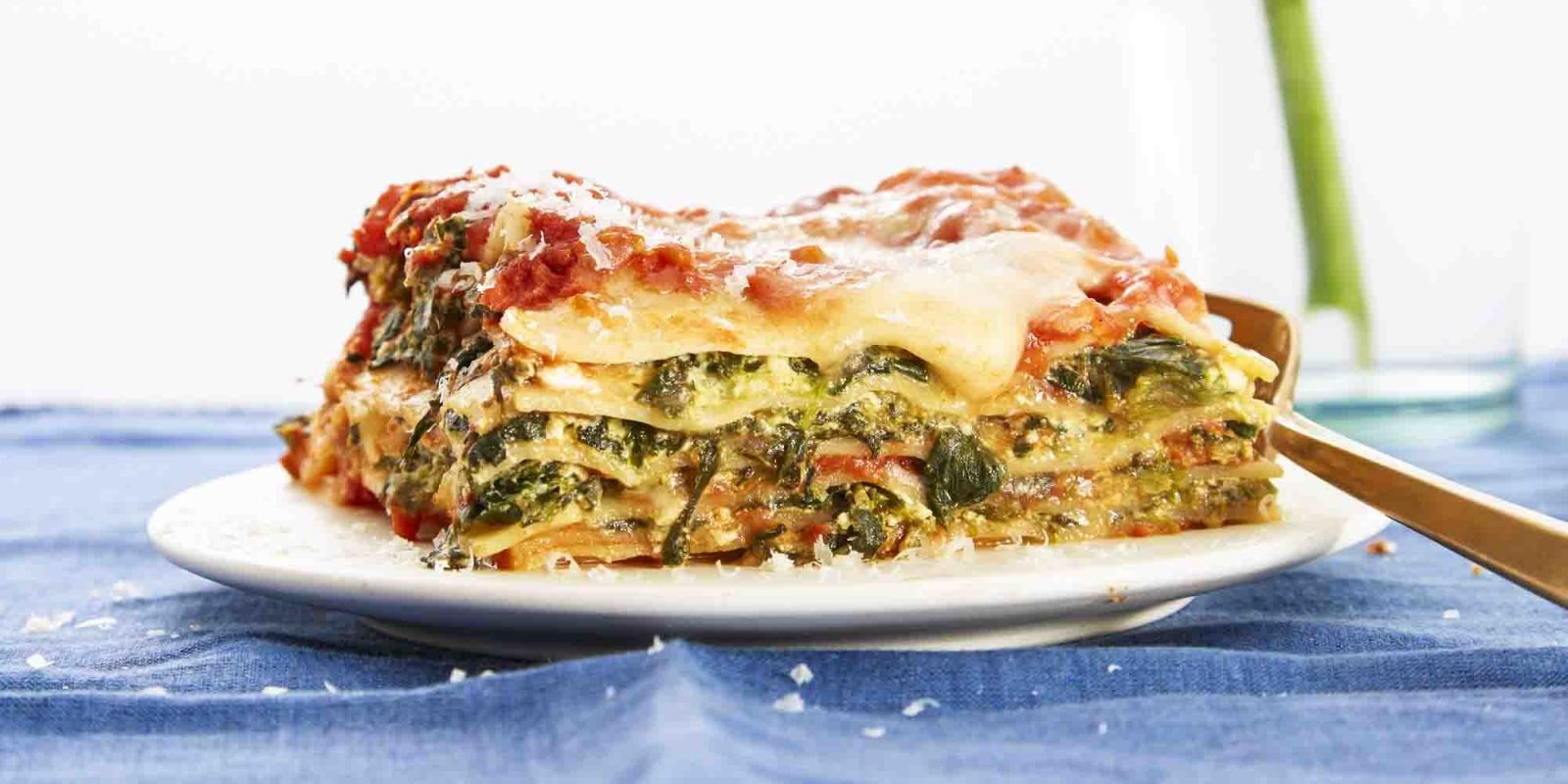 Easiest-Ever Spinach Lasagna