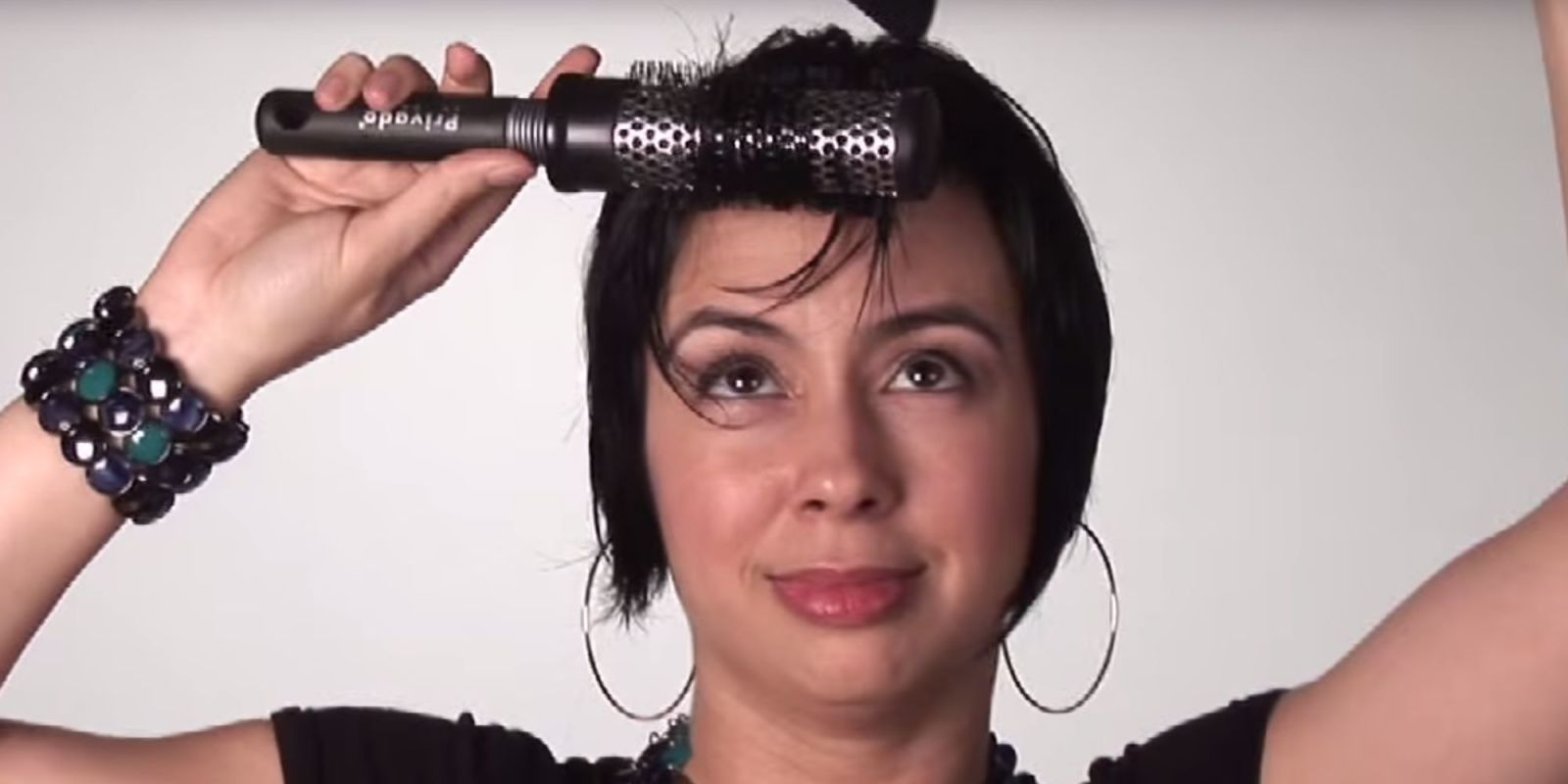 How to fix a cowlick in your hair cowlick styling tips for bangs urmus Image collections