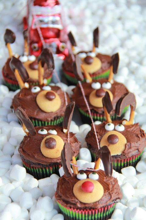 28 Adorable Cupcakes To Bake For Christmas Recipes For