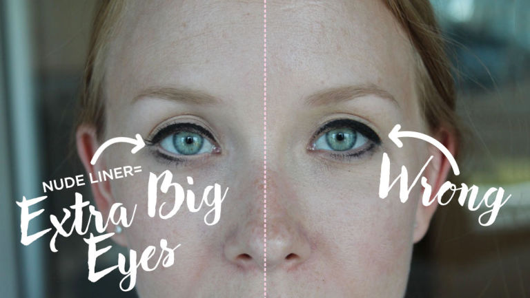 This Eyeliner Trick Makes Your Eyes Look Bigger - Makeup Tips for ...