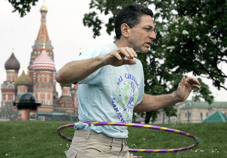 Ashrita Furman, the man having the record for the most Guinness World Records