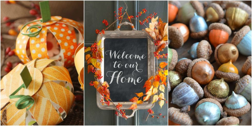 30 photos - Fall Decorations For Home