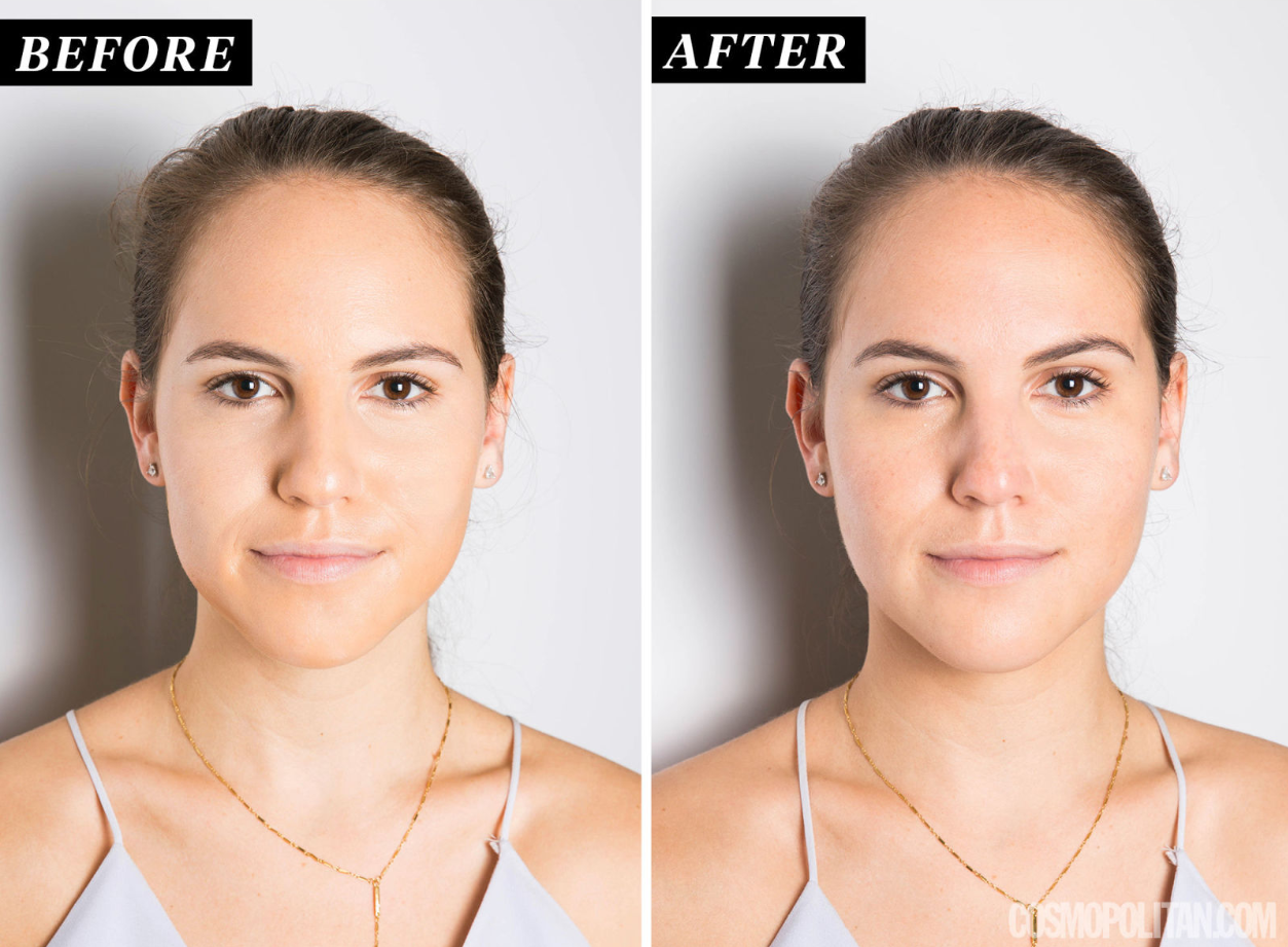 how to make your jawline show with makeup