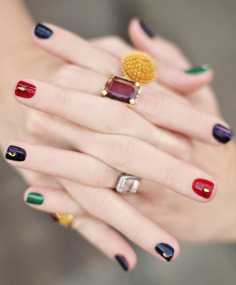 35 fall nail art ideas best nail designs and tutorials for fall 2017 bejeweled prinsesfo Choice Image