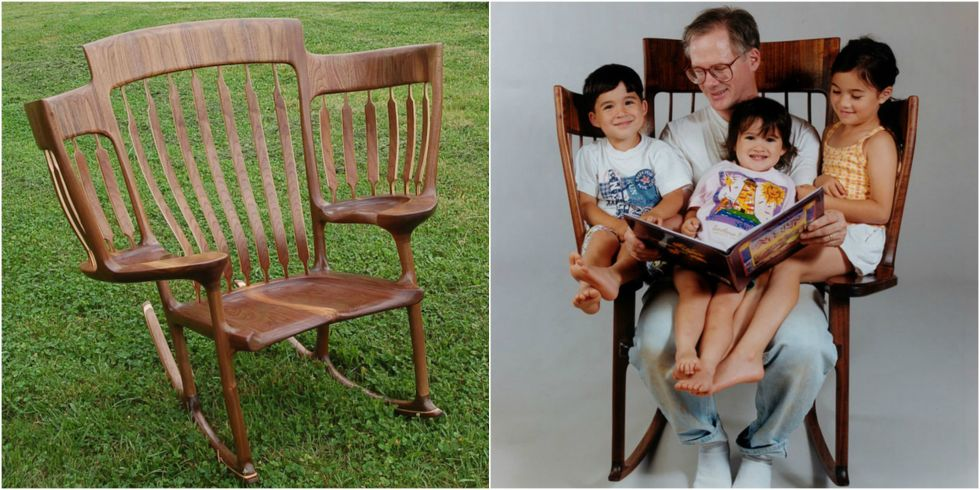 triple rocking chair