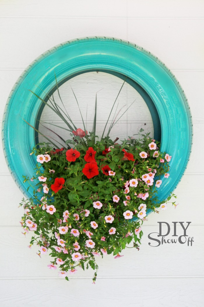 9 new uses for tires new ways to use old tires - Garden Ideas Using Tyres